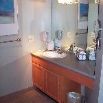 Spacious, well-designed bathroom