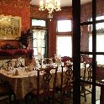 Dining room as seen from the foyer