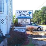 Dove Winds Sign