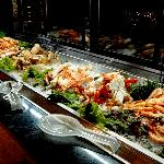 The Seafood Bar: Alaska king crab is highly recommended