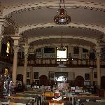 inside the historic library