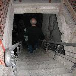 discesa nel vano cisterna