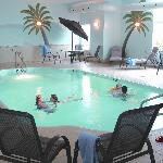 Indoor heated salt water pool