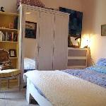 Poppy double bedroom in Villa Roquette