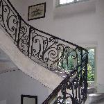 magnificent stone staircase
