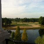 Nice view of pond & golf course from Balcony