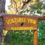 Vultures View Sign