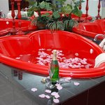 Romantic Heart Shaped Jacuzzi