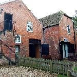 Rear view of Coach House