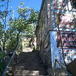 Historic Bisbee steps - but not too many