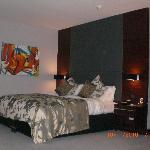 Big soft Hypnos bed. spacious room!