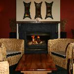 Relax in the Bar by the Fire