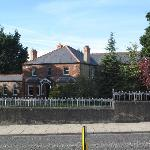 Typical house in Drogheda, near the Lodge.