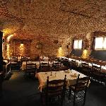 Breakfast -14th century cellar