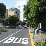 The Larco Av. nice street