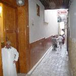 Entry to Palais Amani
