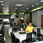 Speisesaal mit offener Küche