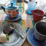 Yummy desserts and great coffee