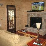 Inside Tree House Cabin