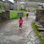 Entrance to the farmyard