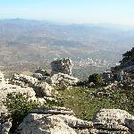 Blick vom Nationalpark Richtung Malaga und Meer