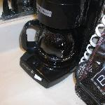Used coffee pot in Bathroom