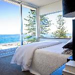 Bedroom view from Cape View penthouse