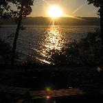 Sunrise over Seneca Lake