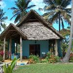 The bungalow we stayed in