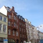 Einkaufstrasse im Zentrum von Flensburg (Schuh :) )