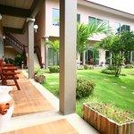 Terrace in Green Room