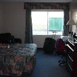Our room at the Nisku Inn