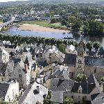Rooftops in Chinon