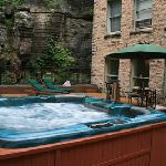 Jacuzzi on Serenity Spa Deck