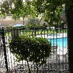 terrace &pool