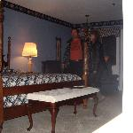 Nice rooms, almost can see the stone fireplace