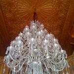 reception ceilings and chandelier
