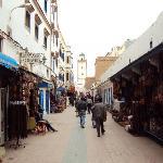 Calle de la medina de Essaouira