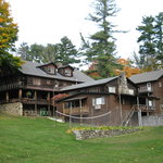 View of main lodge @ Alpine Village