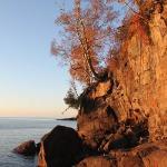 cliffs in morning light