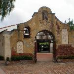 Part of the old mission complex