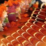 Satori Sushi & Teriyaki Grill - Rainbow Roll
