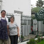The sweetest couple in Stellenbosch.....Johan & Gwen (Owners)