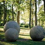 Designer sculptures in our gardens