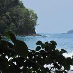 Beach views at Manuel Antonio National Park