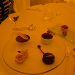 The petits fours (not even the dessert)