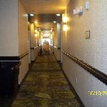 First floor with housekeeping blocking housekeeping carts