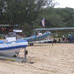 rubber duck dive boat