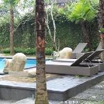 La piscine détail