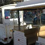 Le petit train blanc de Montmartre